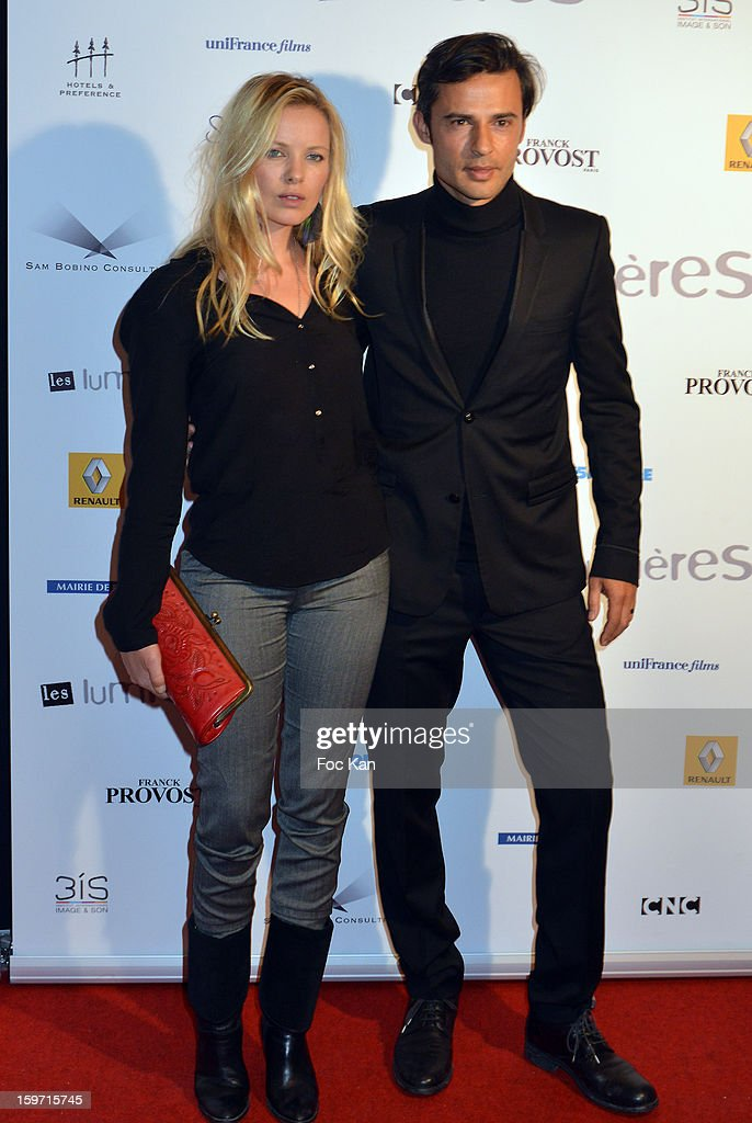 Sophie Meister, David Atrakchi attend 'Les Lumieres 2013' Cinema Awards 18th Ceremony at La Gaite Lyrique on January 18, 2013 in Paris, France.
