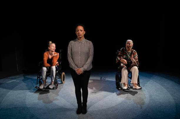 """GBR: """"MUM"""" At Soho Theatre - Photocall"""