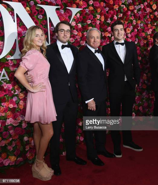Sophie Michaels Henry Michaels Lorne Michaels and Edward Michaels attend the 72nd Annual Tony Awards at Radio City Music Hall on June 10 2018 in New...