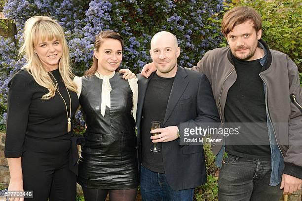 Sophie Michell Gizzi Erskine Neil Rankin and Jamie Reynolds attend the launch of chef Sophie Michell's new book 'Chef On A Diet' at 3 Vincent Square...