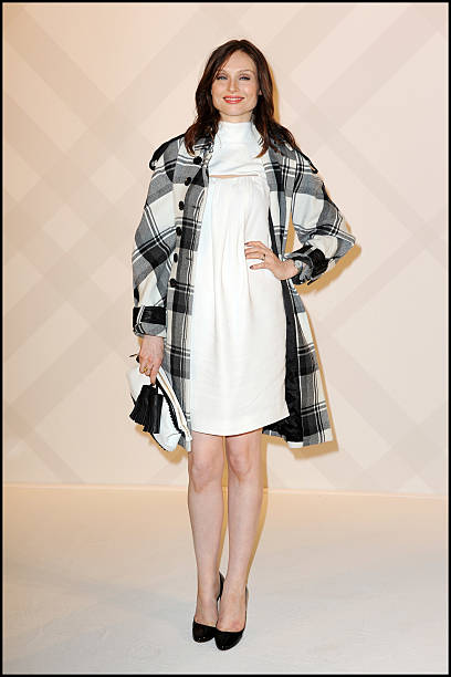 a3c59d977cb3 Sophie Michelle Ellis-Bextor attends to the party at British Embassy to  celebrate the Burberry
