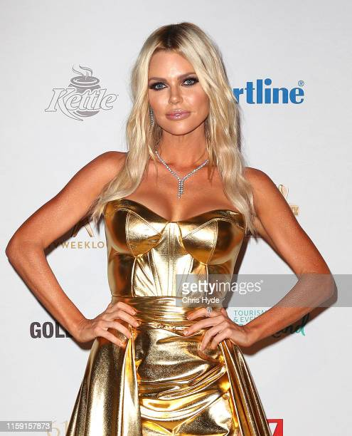 Sophie Monk arrives at the 61st Annual TV WEEK Logie Awards at The Star Gold Coast on June 30 2019 on the Gold Coast Australia