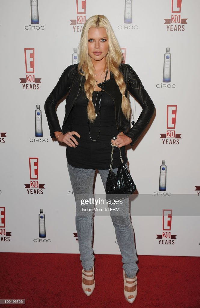 Sophie Monk arrives at the E! 20th anniversary party celebrating two decades of pop culture held at The London Hotel on May 24, 2010 in West Hollywood, California.