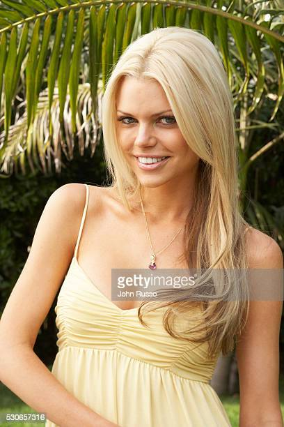 Sophie Monk at home