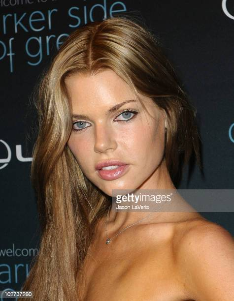 Sophie Monk attends 'The Darker Side of Green' debate series at Palihouse on July 8 2010 in West Hollywood California