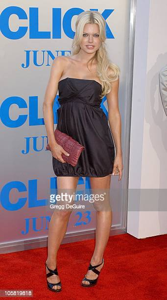 Sophie Monk during 'Click' Los Angeles Premiere Arrivals at Mann Village Theatre in Westwood California United States