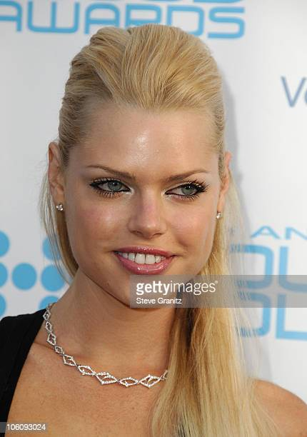 Sophie Monk during Movieline's Hollywood Life 8th Annual Young Hollywood Awards Arrivals at Music Box at The Fonda in Los Angeles California United...