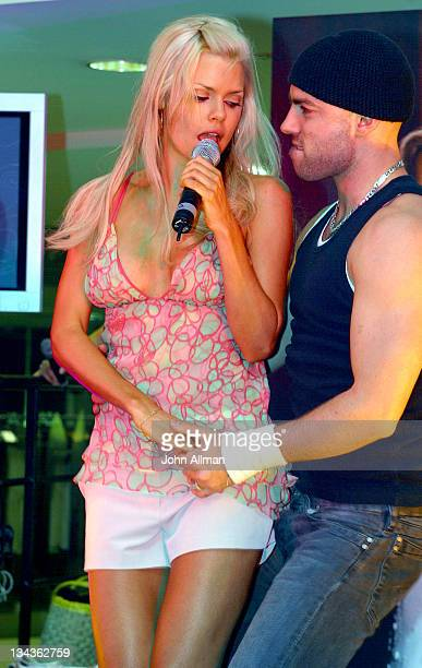 Sophie Monk during Sophie Monk Performs at the Australian Launch of Britney Spears Debut Fragrance 'Curious' at Myers department store in Sydney NSW...