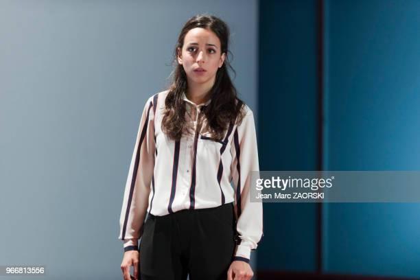 Sophie Mourousi dans « Trilogie du revoir » une pièce de Botho Strauss mise en scène par Benjamin Porée et présentée en création mondiale au gymnase...