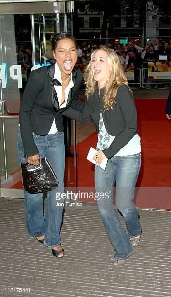 Sophie Okonedo and Alicia Silverstone during 'Pride Prejudice' London Premiere Inside Arrivals at Odeon in London Great Britain