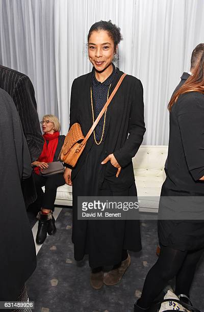 Sophie Okonedo attends a drinks reception ahead of the press night performance of The English National Ballet's Giselle at St Martins Lane on January...