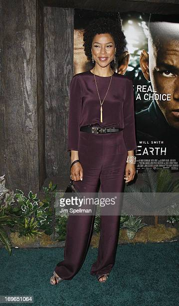 Sophie Okonedo attends the 'After Earth' premiere at the Ziegfeld Theater on May 29 2013 in New York City
