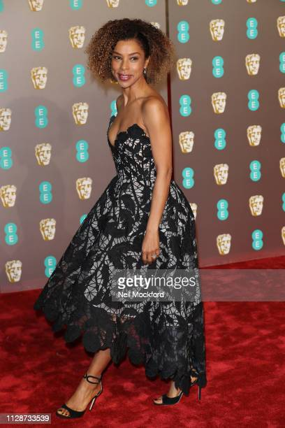 Sophie Okonedo attends the EE British Academy Film Awards at Royal Albert Hall on February 10 2019 in London England
