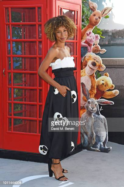 Sophie Okonedo attends the European Premiere of Christopher Robin at the BFI Southbank on August 5 2018 in London England