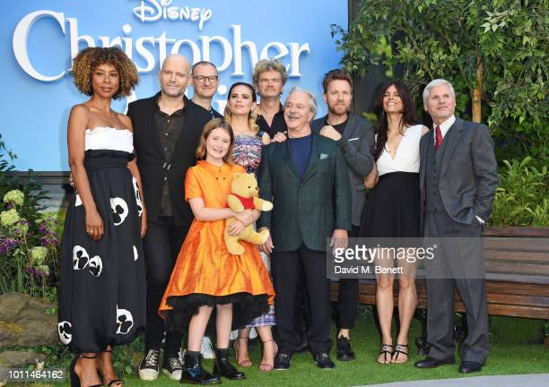 Sophie Okonedo director Marc Forster Mark Gatiss Bronte Carmichael Hayley Atwell Simon Farnaby Jim Cummings Ewan McGregor Renee Wolfe and Brigham...