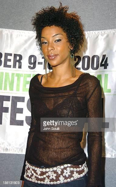 Sophie Okonedo during 2004 Toronto International FIlm Festival Hotel Rwanda Press Conference at Four Seasons in Toronto Ontario Canada