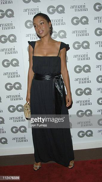 Sophie Okonedo during 2005 GQ Men of the Year Awards Inside Arrivals at Royal Opera House in London Great Britain