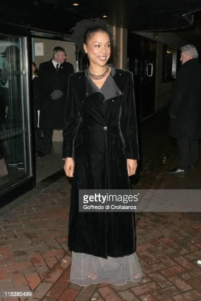 Sophie Okonedo during Hotel Rwanda London Premiere at Vue West End in London Great Britain
