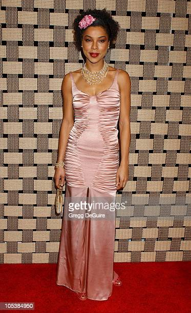 Sophie Okonedo during Hotel Rwanda Los Angeles Premiere Arrivals at Academy Theatre in Beverly Hills California United States