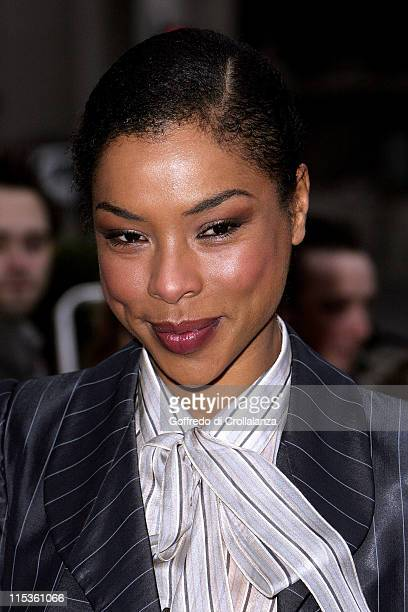 Sophie Okonedo during Sony Ericsson Empire Film Awards Arrivals at Guildhall Arts Centre in London Great Britain