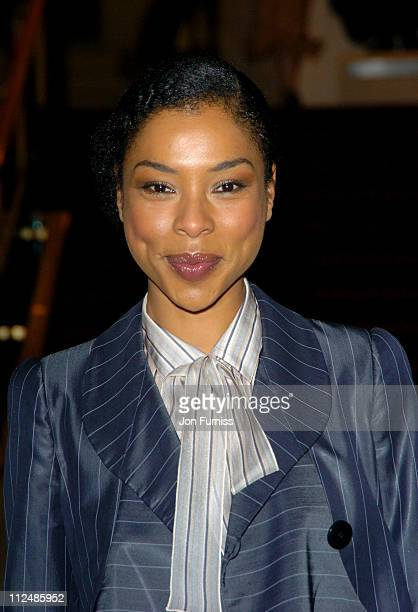 Sophie Okonedo during Sony Ericsson Empire Film Awards Inside Arrivals at Guildhall in London Great Britain