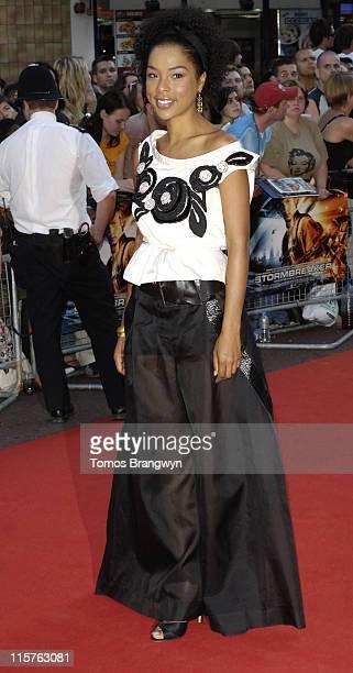 Sophie Okonedo during Stormbreaker London Premiere Arrivals at Vue West End in London Great Britain