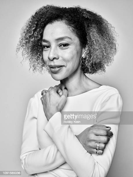 Sophie Okonedo of CBS's 'Flack' poses for a portrait during the 2019 Winter TCA at The Langham Huntington Pasadena on January 30 2019 in Pasadena...