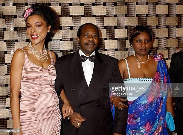 Sophie Okonedo Paul Rusesabagina and Tatiana Rusesabagina