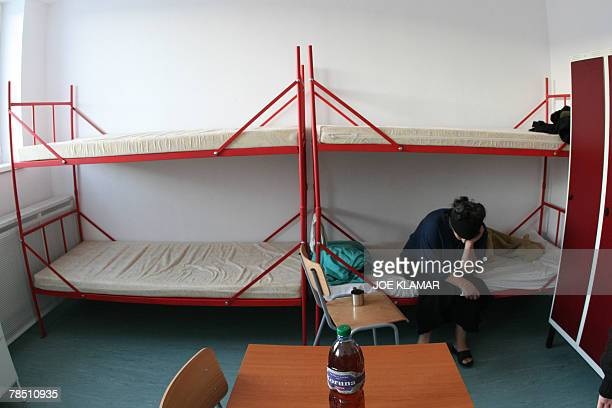 Sophie Pons A Turkish Kurdish woman sits in a room at a central refugee's detention camp in eastern Slovak city of Secovce 28 November 2007 Thousands...