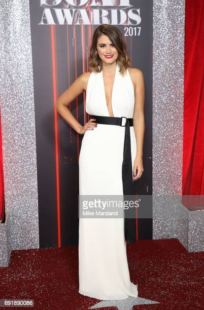 Sophie Porley attends The British Soap Awards at The Lowry Theatre on June 3 2017 in Manchester England The Soap Awards will be aired on June 6 on...