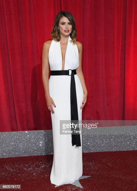 Sophie Porley attends the British Soap Awards at The Lowry Theatre on June 3 2017 in Manchester England