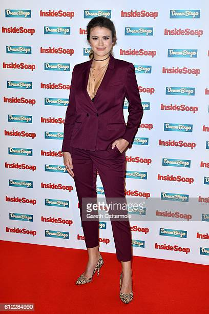Sophie Porley attends the Inside Soap Awards at The Hippodrome on October 3 2016 in London England