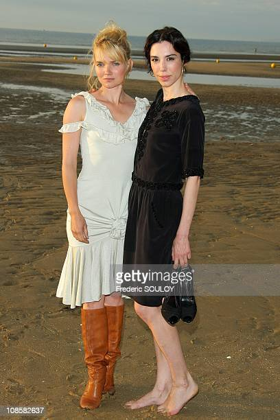 Sophie Quinton and Berangere Allaux in Cabourg France on June 14 2009