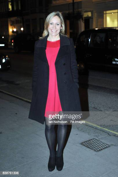 Sophie Raworth arrives for the Radio Times Covers Party at Claridges Hotel London