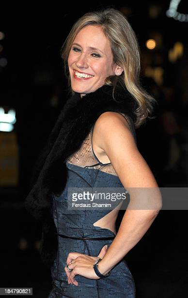 Sophie Raworth attends a screening of 'Philomena' during the 57th BFI London Film Festival at Odeon Leicester Square on October 16 2013 in London...