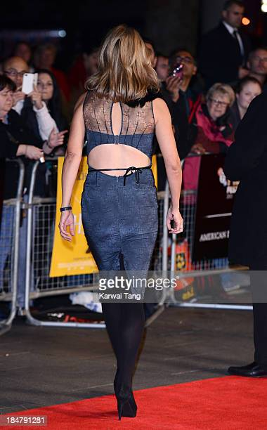 Sophie Raworth attends a screening of 'Philomena' during the 57th BFI London Film Festival at the Odeon Leicester Square on October 16 2013 in London...