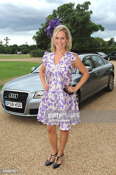 Sophie Raworth attends Audi Lunch at Goodwood House on Ladies Day at the Glorious Goodwood Festival at Goodwood on July 29 2010 in Chichester England