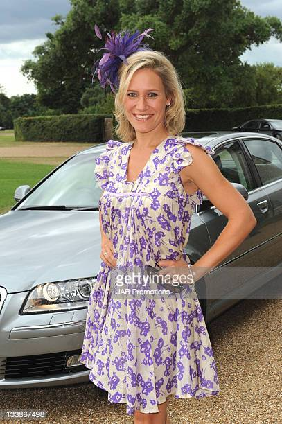 Sophie Raworth attends Audi Lunch at Goodwood House on Ladies Day at the Glorious Goodwood Festival at Goodwood on July 29, 2010 in Chichester,...