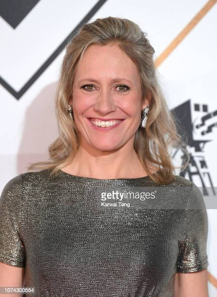 Sophie Raworth attends the 2018 BBC Sports Personality Of The Year at The Vox Conference Centre on December 15, 2018 in Birmingham, England.