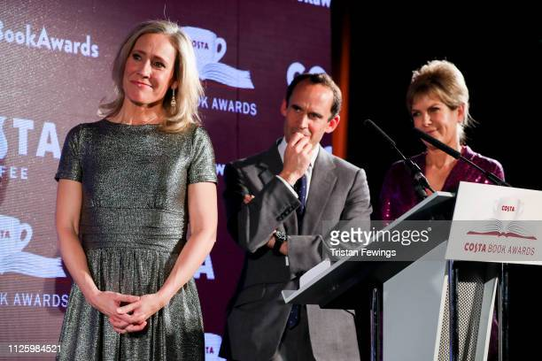 Sophie Raworth attends the 2019 Costa Book Awards held at Quaglino's on January 29, 2019 in London, England.