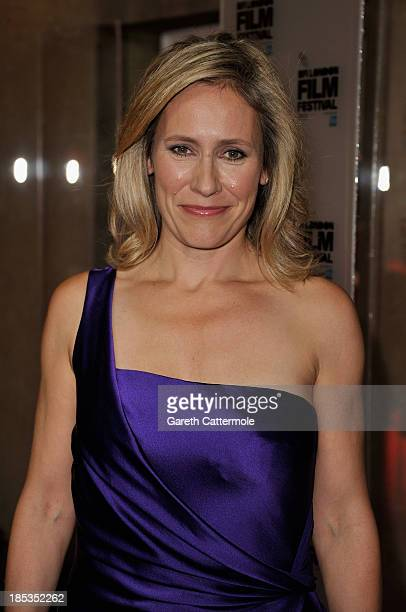 Sophie Raworth attends the BFI London Film Festival Awards during the 57th BFI London Film Festival at Banqueting House on October 19 2013 in London...
