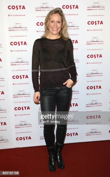 Sophie Raworth attends the Costa Book Of The Year Award 2016 at Quaglino's on January 31 2017 in London United Kingdom