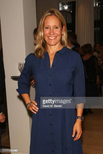 Sophie Raworth attends the launch of Lanserhof at The Arts Club on September 25, 2019 in London, England.