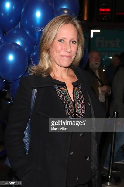 Sophie Raworth attends the opening night of 'Company' at Gielgud Theatre on October 17, 2018 in London, England.