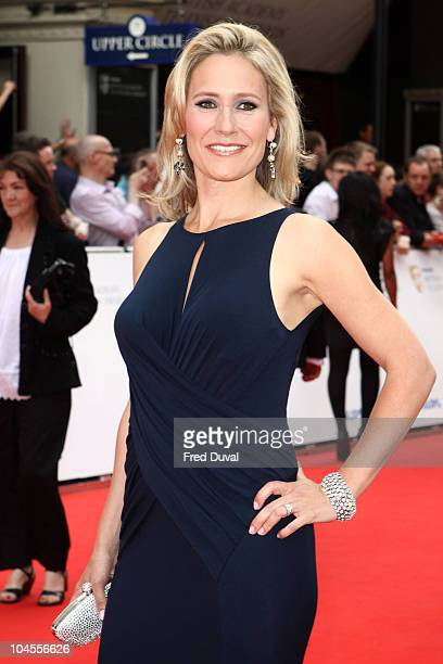 Sophie Raworth attends the Philips British Academy Television awards at London Palladium on June 6 2010 in London England