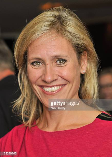Sophie Raworth attends the relaunch party at Met Bar Park Lane exclusively with Louis Roederer on October 5 2011 in London England