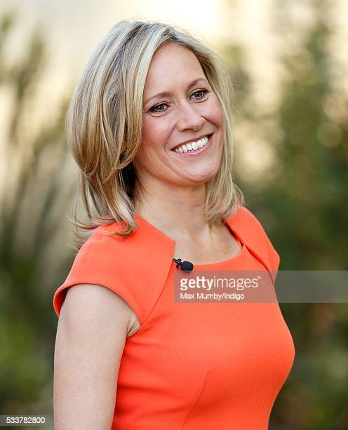 Sophie Raworth attends the RHS Chelsea Flower Show press day at the Royal Hospital Chelsea on May 23 2016 in London England