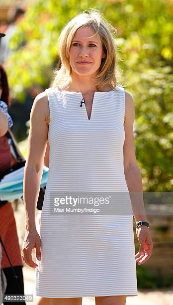 Sophie Raworth attends the VIP preview day of The Chelsea Flower Show at The Royal Hospital Chelsea on May 19 2014 in London England