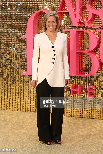 Sophie Raworth attends the World Premiere of 'Absolutely Fabulous' at Odeon Leicester Square on June 29 2016 in London England