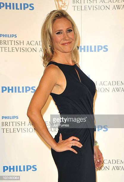 Sophie Raworth poses in the press room at the Philips British Academy Television Awards at London Palladium on June 6 2010 in London England